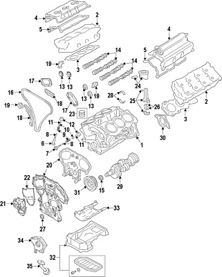 Genuine Nissan Cover Gasket 23797-EY02A