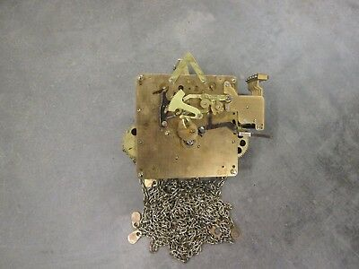 Hermle Westminster Chime Wall Clock Movement 451-030H 114cm Working Condition D