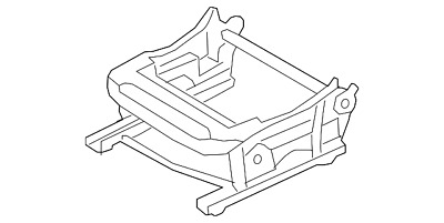 Genuine Nissan Frame-Front Seat Left-Hand 87351-5BH5A