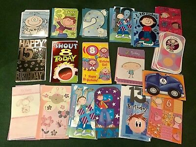 Wholesale Joblot Mixed Greetings Cards Birthday Wedding Bundle Lot Clearance