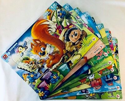 40 Piece Boys Kids Jigsaw Puzzle Set NEW