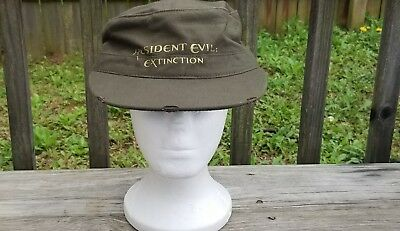 "New ""resident Evil Extinction Military Promotional Hat"