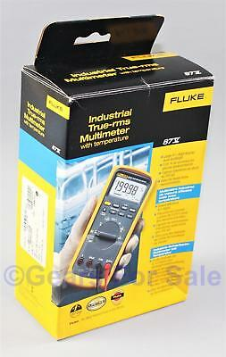 Fluke 87V Industrial TRMS Multimeter with temp NEW IN BOX