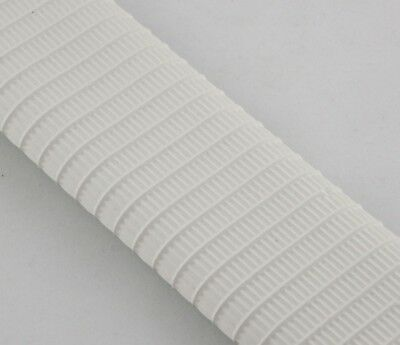 1 WHITE Cricket Bat Grip - Full Size- MENS  - Top quality Rubber