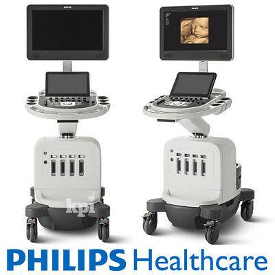 Philips Ultrasound Affiniti 50 Machine System with C6-2 Convex & C9-4v Vaginal