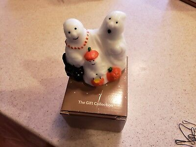 Vintage Halloween Ghost Family Candle