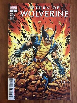 Return Of Wolverine #1 NM, McNiven Cover A!