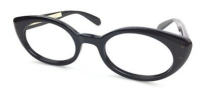 Vintage 1960's B&L Ray Ban USA Bewitching Sunglasses FRAME'S EBONY 5 1/2 NOS