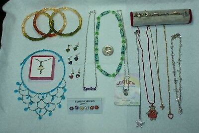 25 ITEMS of LITTLE GIRLS *MOSTLY NWOT* JEWELRY ~ SHE'LL LOVE 💘 IT!!