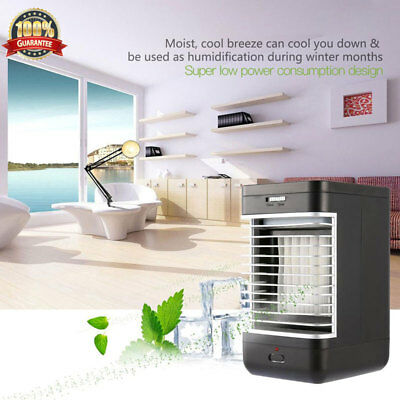 Portable Air Cooler Conditioner NEW Cool Cooling For Bedroom Office Mini Fan  II