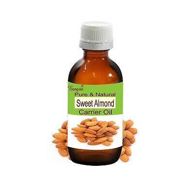 Sweet Almond Prunus amygdalus Pure Natural Cold Pressed Oil 5ml to 500ml Bangota