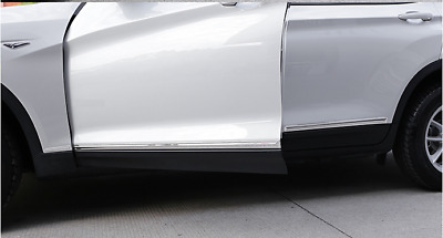 Stainless Steel Body door Side Molding Chrome For BMW X3 F25 2011-2014