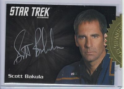 Star Trek Enterprise Archives Serie 1 (2018) Scott Bakula autograph