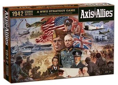 GW JM2115603   Avalon Hill Board Game Axis & Allies 1942 2nd Edition english