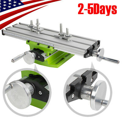 Easy Use Milling Compound Worktable Cross Sliding Bench Drill Vise Fixture