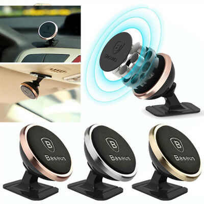 Baseus 360° Rotating Car Holder Magnetic Mount Stand For Smart Phone Universal