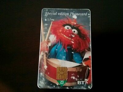 Special Edition Muppets £2 Phonecard