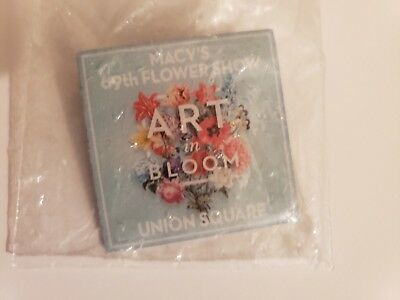 Macy's Annual Flower Show 69th pin Art in Bloom Union Square ~ Free Ship