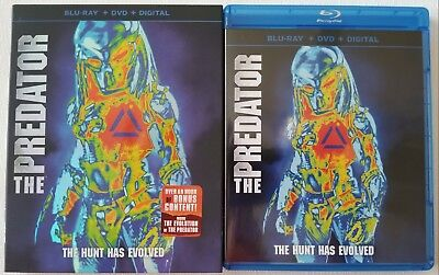 The Predator Blu Ray Dvd 2 Disc Set + Slipcover Sleeve Free Worldwide Shipping