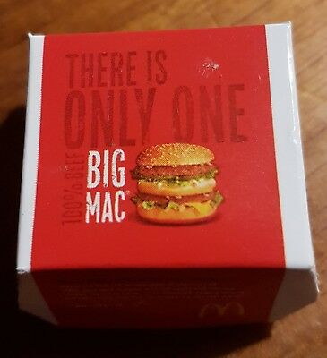 Little shop Minis McDonald's very RARE BIG MAC Just like Coles Minis