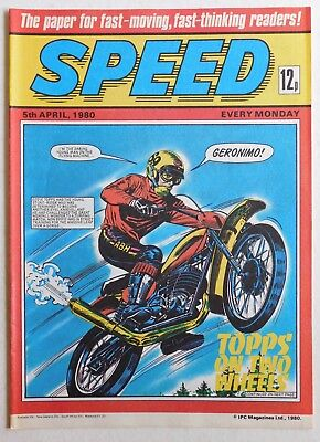 SPEED COMIC - 5 April 1980