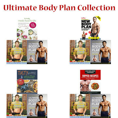 Ultimate Body Plan Collection Books Tasty & Healthy Healthy Medic Food for Life