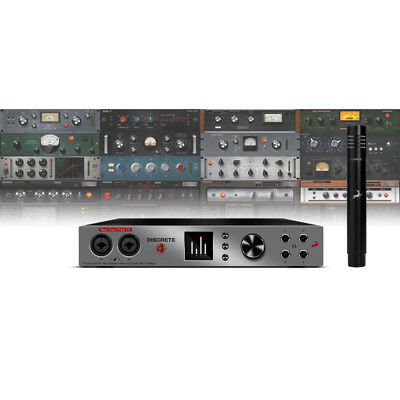 Antelope Audio Discrete 4 and Verge Modelling Microphone Bundle (NEW)