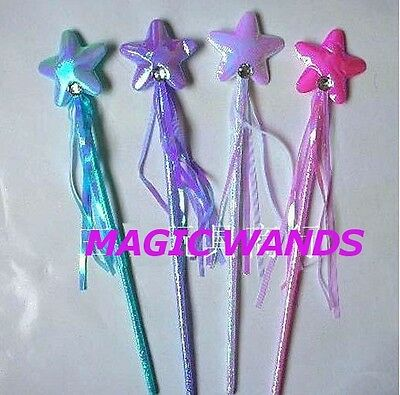 Magic Star Fairy WAND   ~  Great Party Favour ~  Christmas Stocking Stuffer  ~
