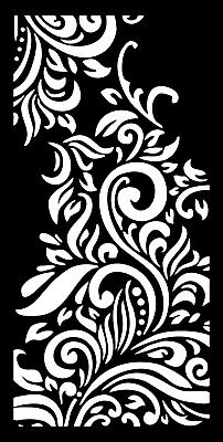DXF PANEL PATTERN file Ready for use on CNC Laser Plasma or Water Jet  DOOR0014