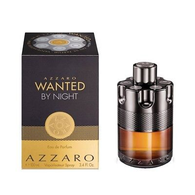 Azzaro Wanted By Night For Men EDP 3.4oz / 100ml New & Sealed ✲Free Shipping✲