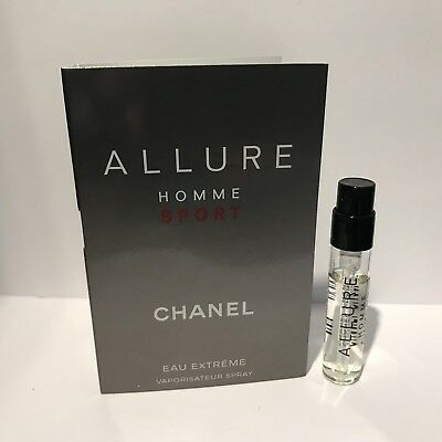 Chanel Allure Homme Sport Eau Extreme parfum sample 2ml