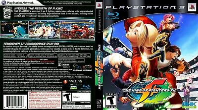 Sony Ps3 Replacement Game Case and Cover King of Fighters XII, The
