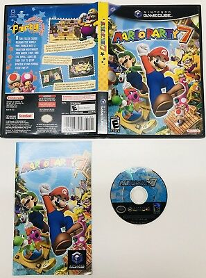 Mario Party 7 (Nintendo GameCube, 2005) WII COMPLETE! FAST SHIPPING!
