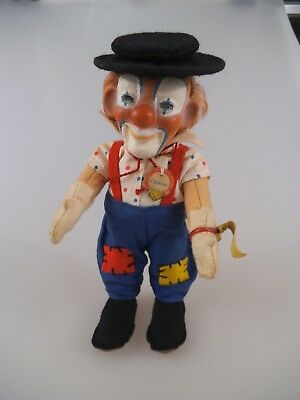 Steiff Clown Clownie 8719,00 mit KFS 1959 - 1967 (2246)
