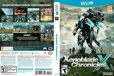 Nintendo Wii u Replacement Case and Cover Xenoblade Chronicles X