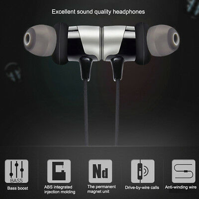 Wireless Bluetooth Waterproof Stereo Game Headset Magnetic Absorption InEar R5D0