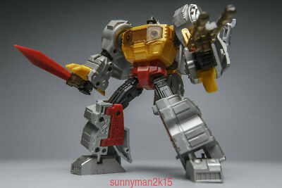 New Warbotron Transformers WB03-F Grimlock Model Kit Toy Fashion In Stock