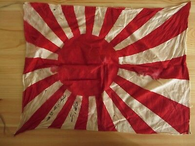 Authentic Vintage Japanese Navy Flag WW2 Rising Sun