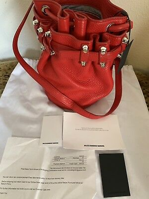 Alexander Go Bucket Bag Small Used Once W Tags