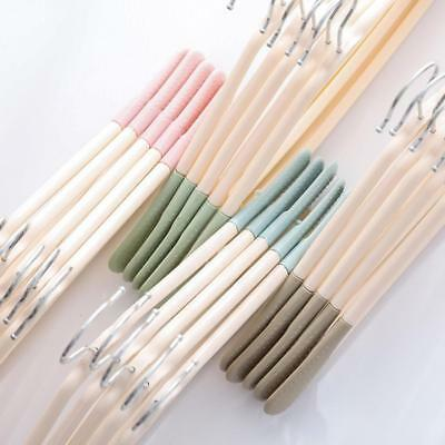 Non-trace Nonslip Coat Hangers for Clothes Trousers Storage Hanging Hot ∧D~