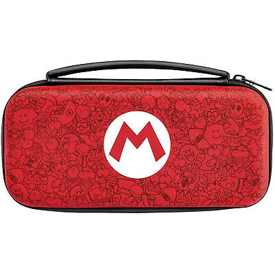 Nintendo Switch Carrying Case Protective Storage Pouch Hard Shell Super Mario