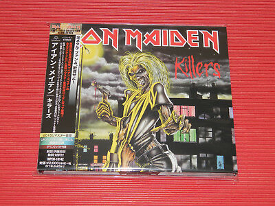 2015 Remaster Iron Maiden Killers Japan Digipak Cd