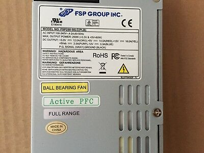 FSP250-50PLB PSU for security systems CCTV recorders 1U Power Supply Unit