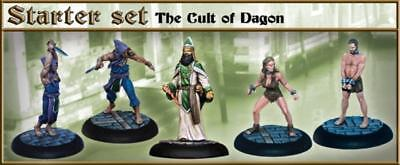Carnevale miniature game Cult of Dagon Starter set new