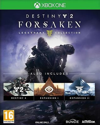 Destiny 2 Forsaken Legendary Collection Xbox One New and Sealed