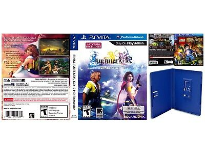 Sony PlayStation Vita Replacement Case and Cover Final Fantasy X/X-2 HD Remaster