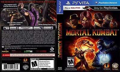 Sony PlayStation Vita Replacement Case and Cover Mortal Kombat