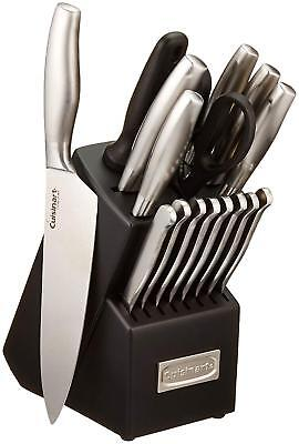 Cuisinart C77SS-17P 17-Piece Artiste Collection Cutlery Knife Block Set, Stainle