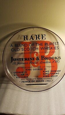 "J&b Rare A Blend Of The Purest Old Scotch Whiskies 13"" Plastic Serving Tray"