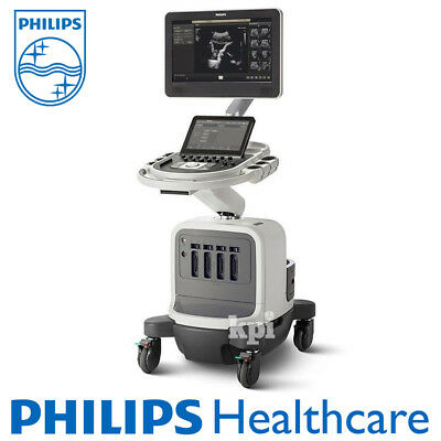"""2014 Philips Ultrasound Affiniti 70 Machine System w/ SonoCT XRES 21.5"""" LCD"""